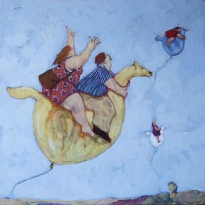 """""""Alla conquista del cielo"""" disponibili nei formati 10x10  18x18   30x30  50x50"""