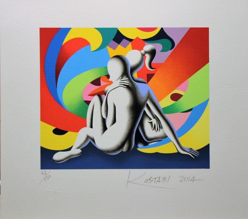 """""""Emotion vortex"""" serigrafia cm 39x44"""