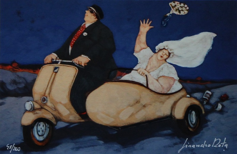 """Just married"" disponibile nei formati 12x18 25x35 50x70"