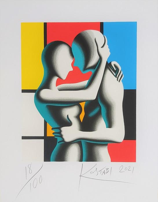 """""""Modern Love"""" serigrafia cm. 45x35"""