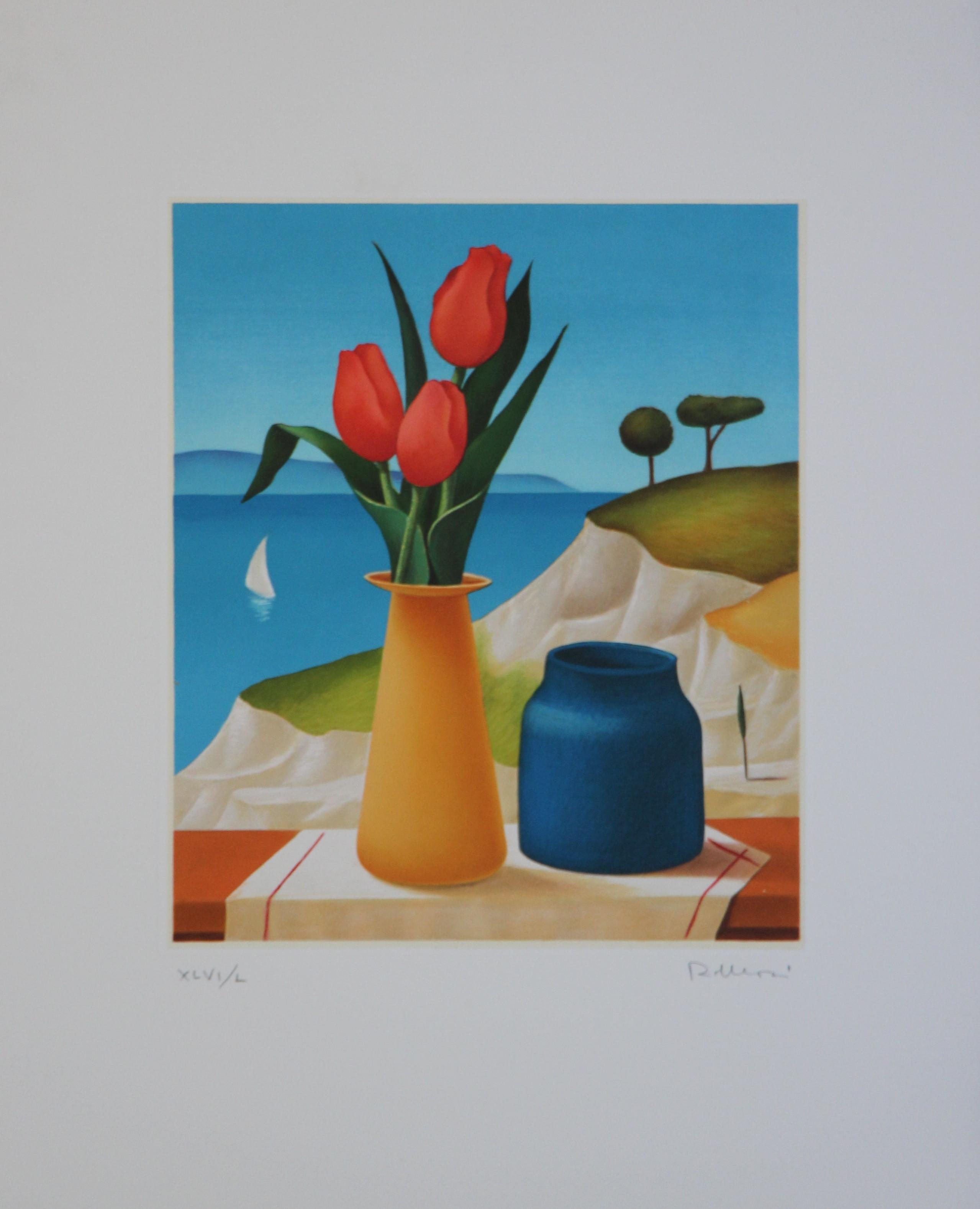 """""""Natura morta"""" serigrafia  40x50"""