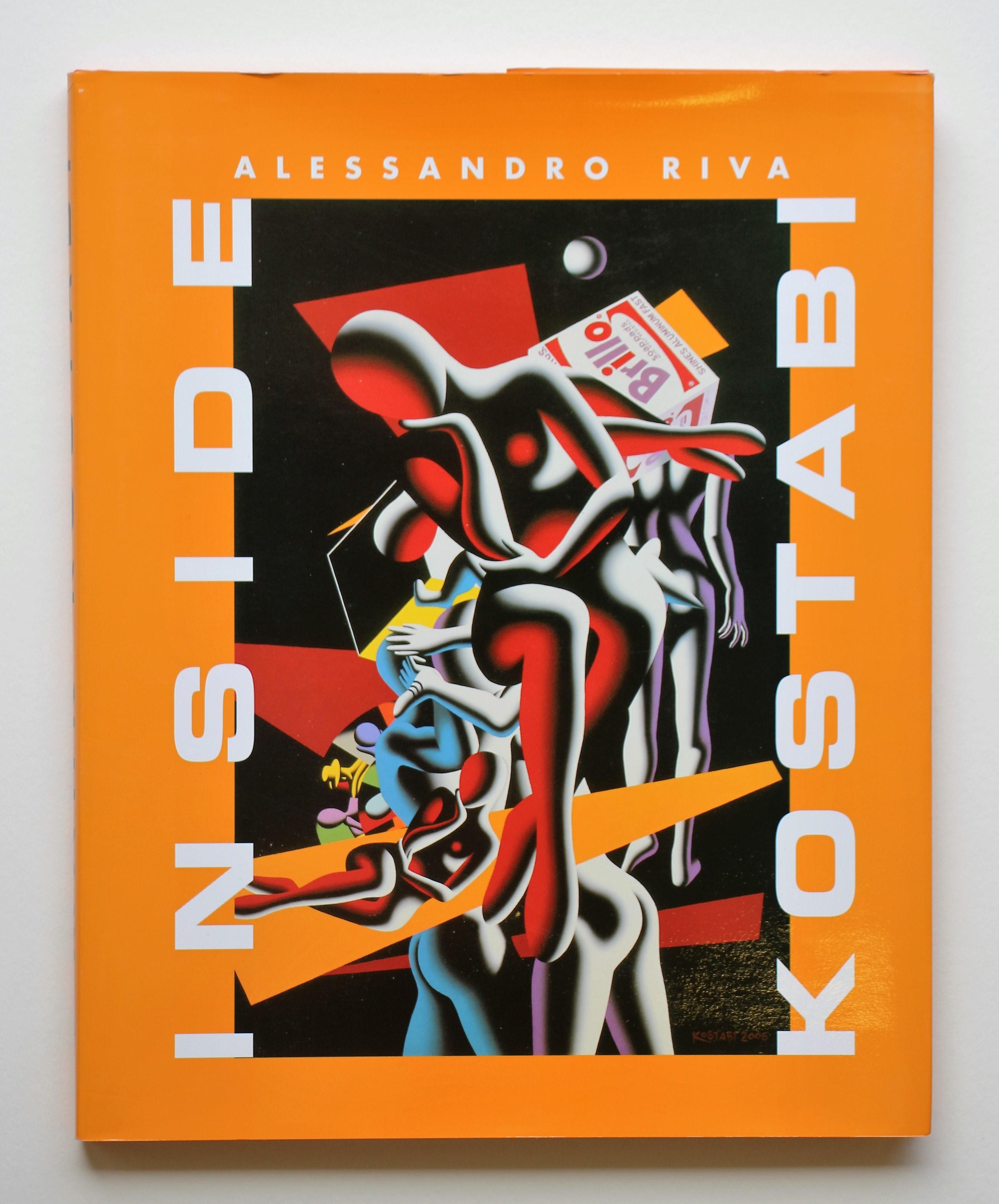 """Inside kostabi"" anno 2006 pagine 109  cm. 31x25"