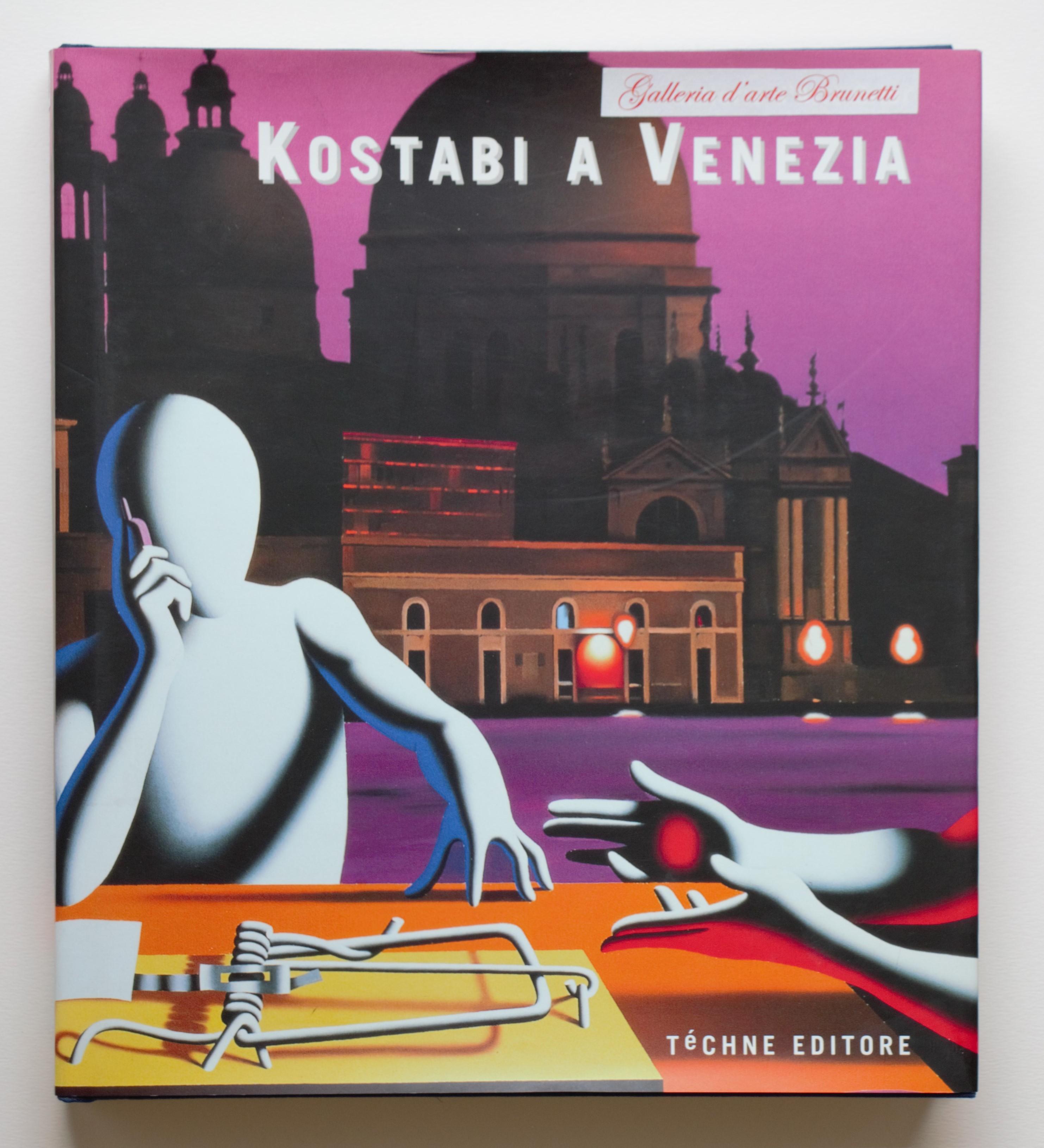 """kostabi a Venezia"" anno 2003  pagine 239  cm. 25x28,3"