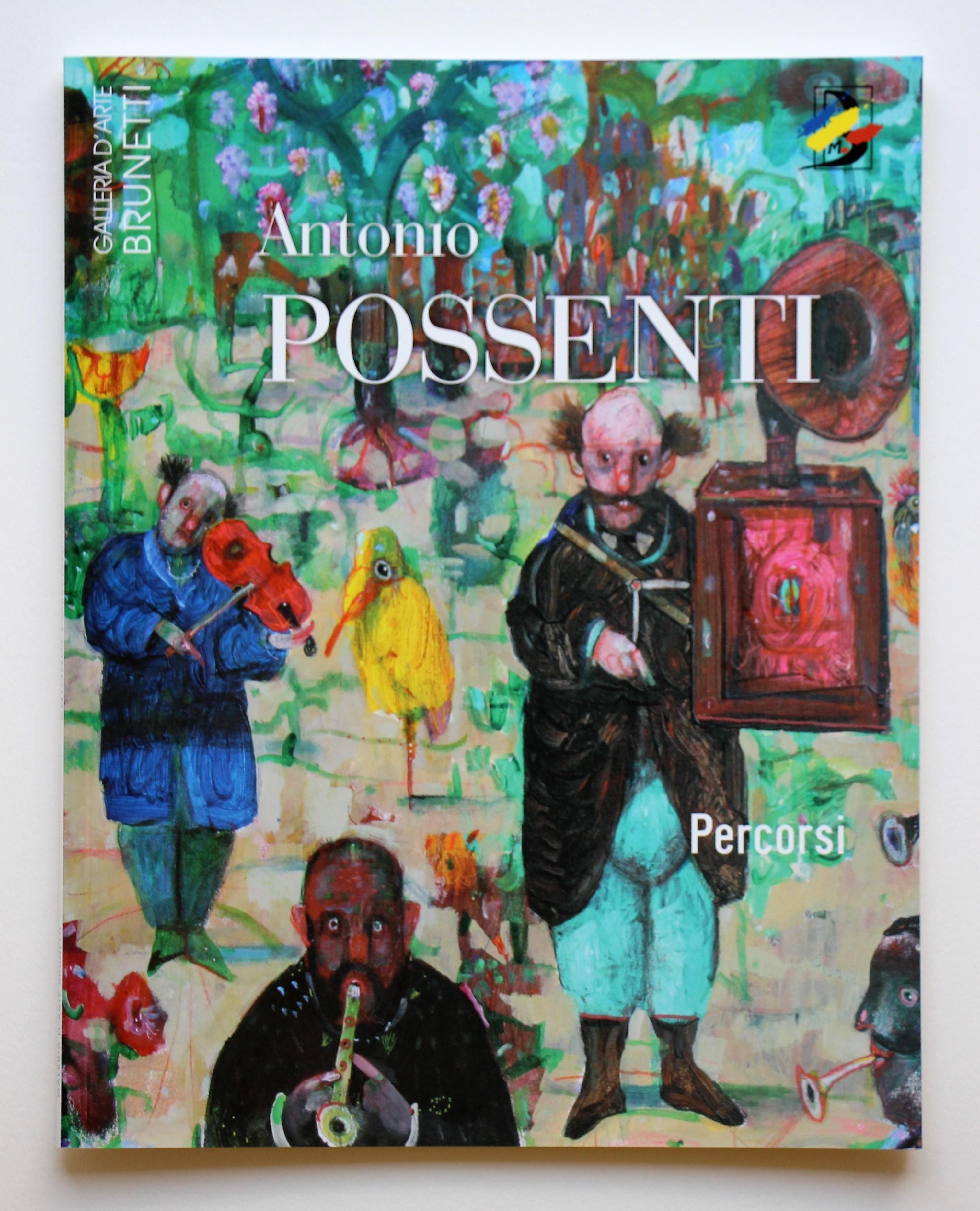 """""""Percorsi"""" anno 2001 pagine 56 cm. 28,5x22,5"""