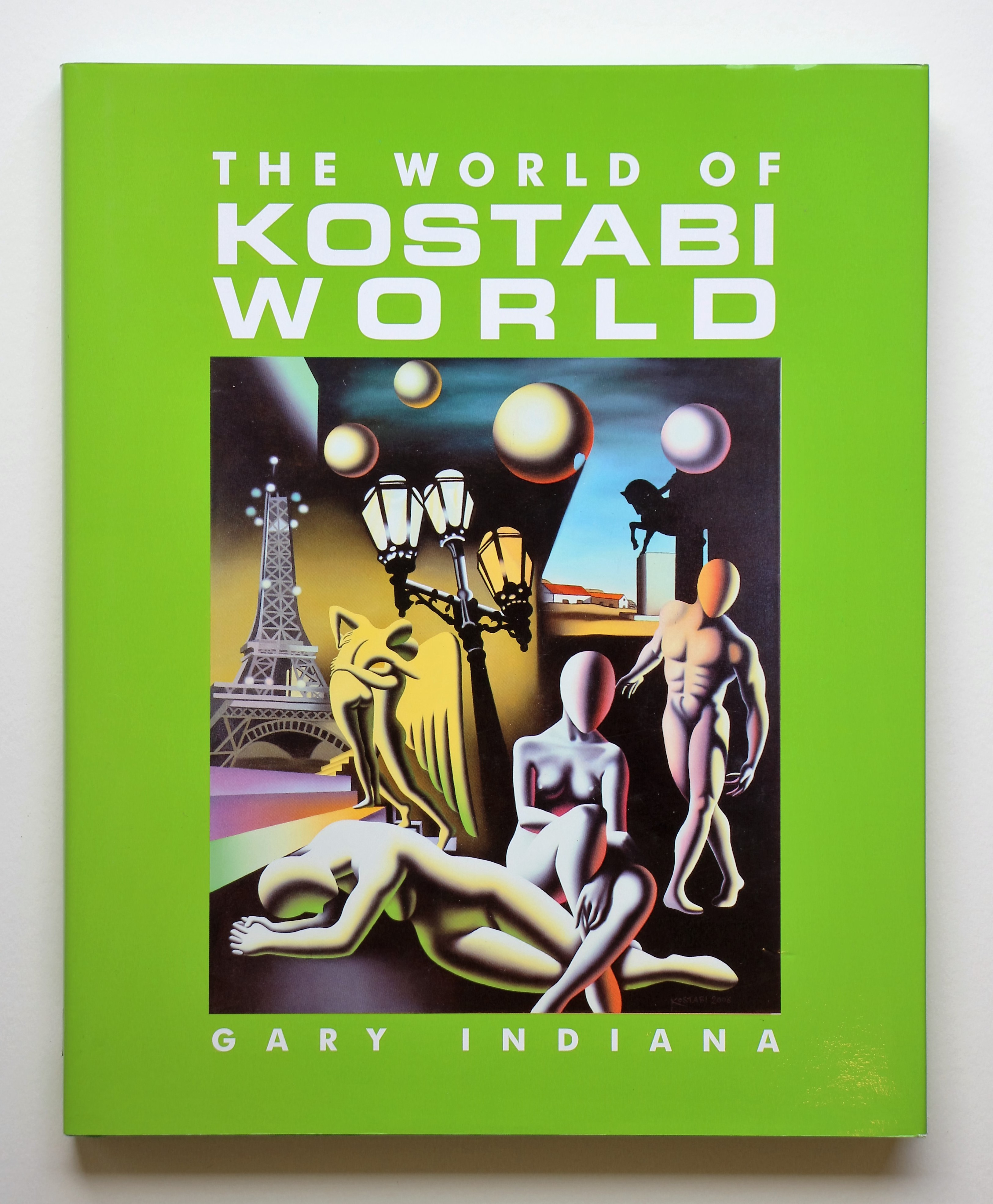 """The world of kostabi world"" anno 2007 pagine 197 cm. 31x25"