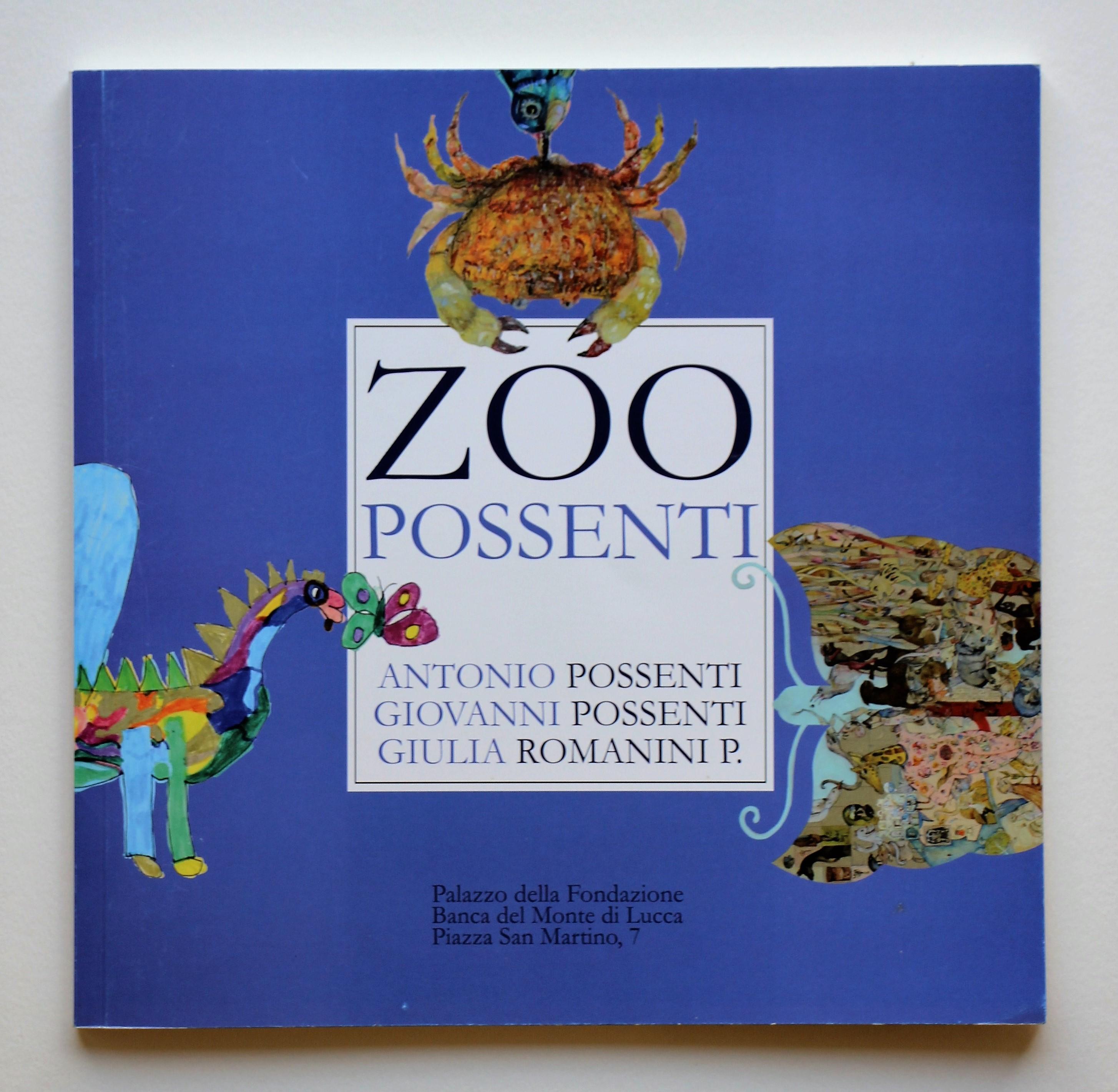 """""""Zoo Possenti"""" anno 2011 pagine 56 cm. 20x20"""