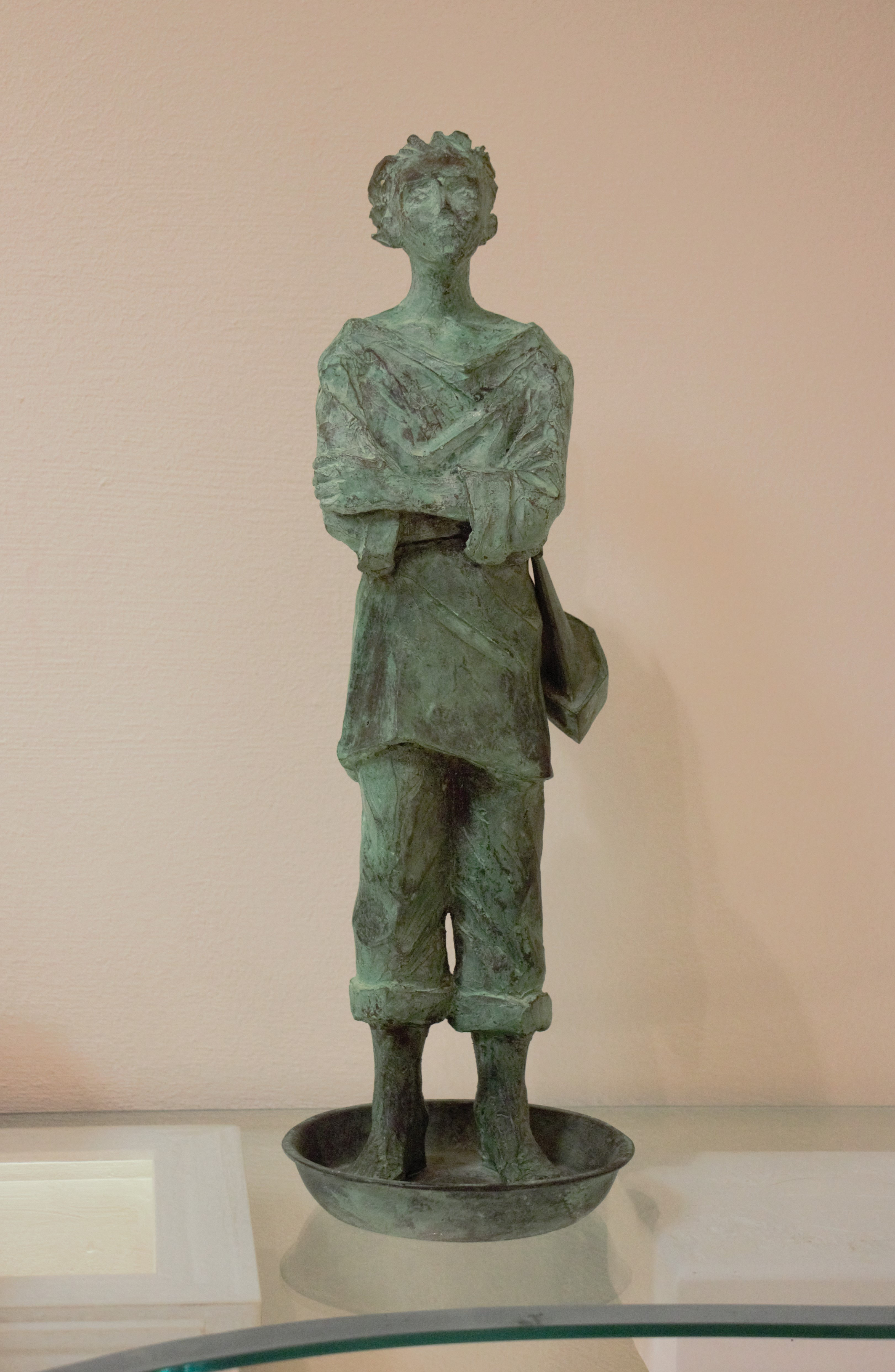 """""""Il marinaio"""" bronzo tiratura 75 esemplari - Altezza cm. 43,5"""