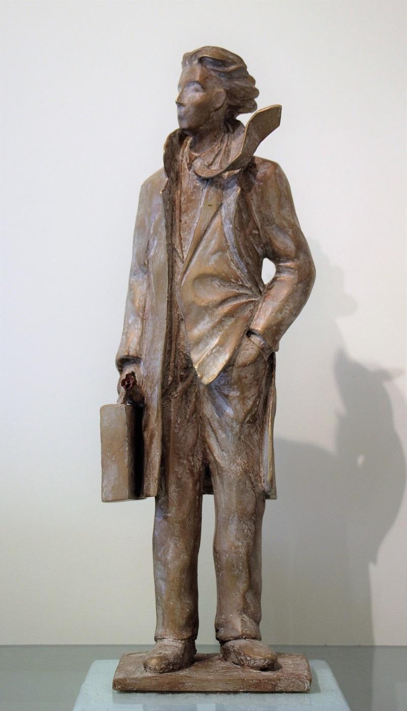 """""""Partente"""" bronzo tiratura 75 esemplari - Altezza cm. 45,5"""