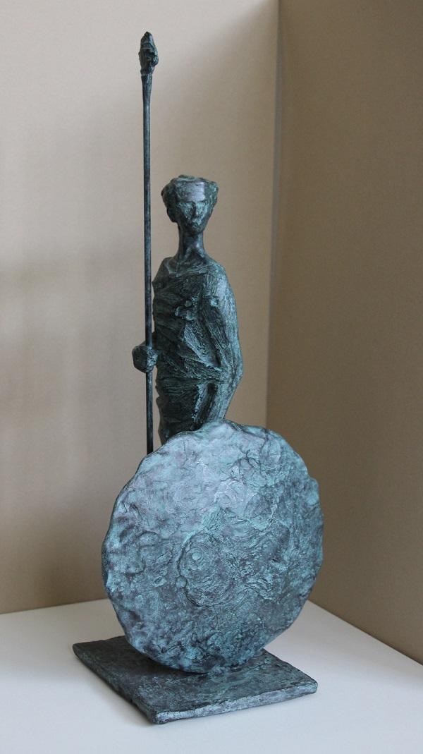 """Porsenna"" bronzo tiratura 75 esemplari - Altezza cm. 39"