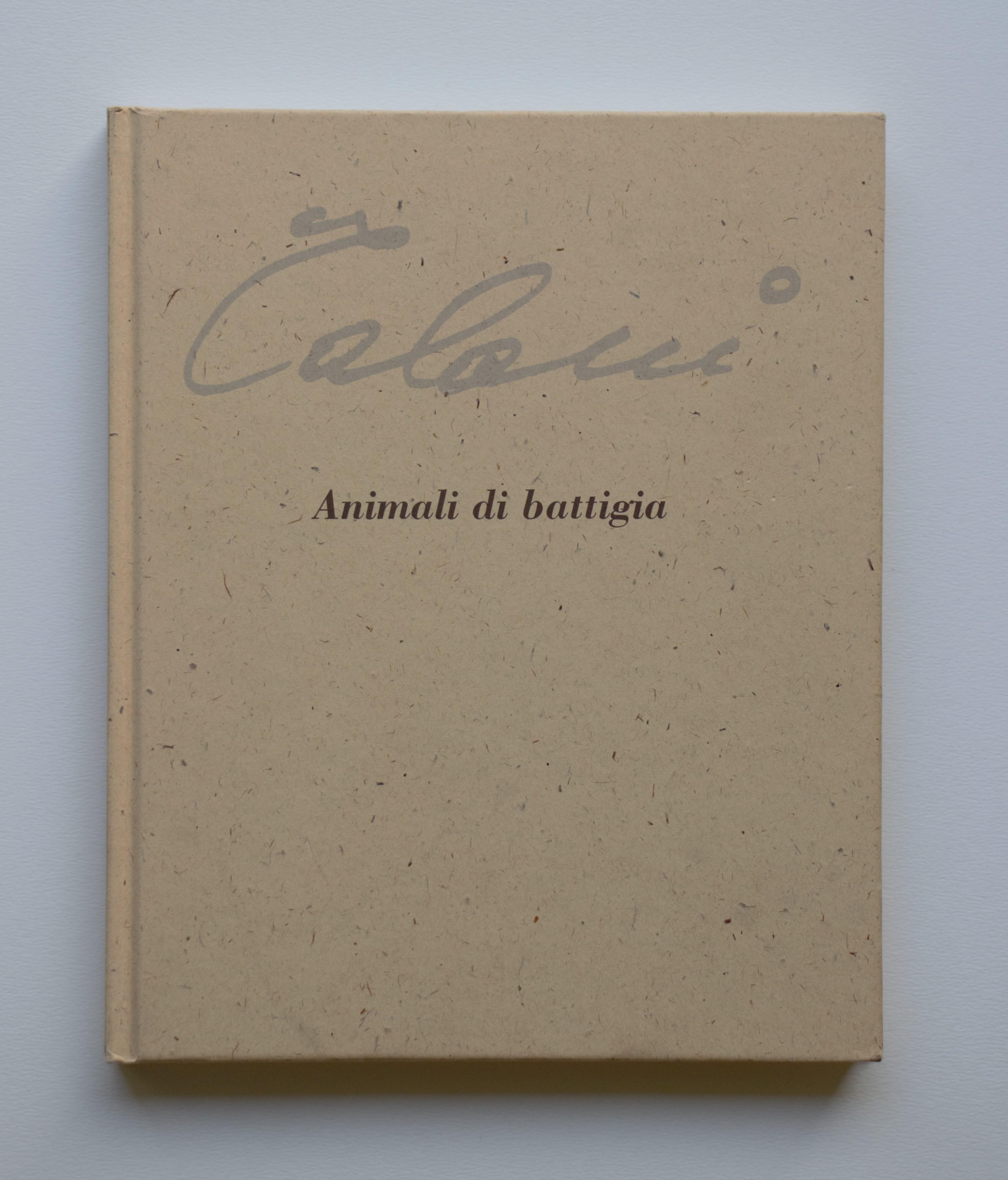 """""""Animali di battigia"""" anno 2003 pagine148 cm. 20x25"""