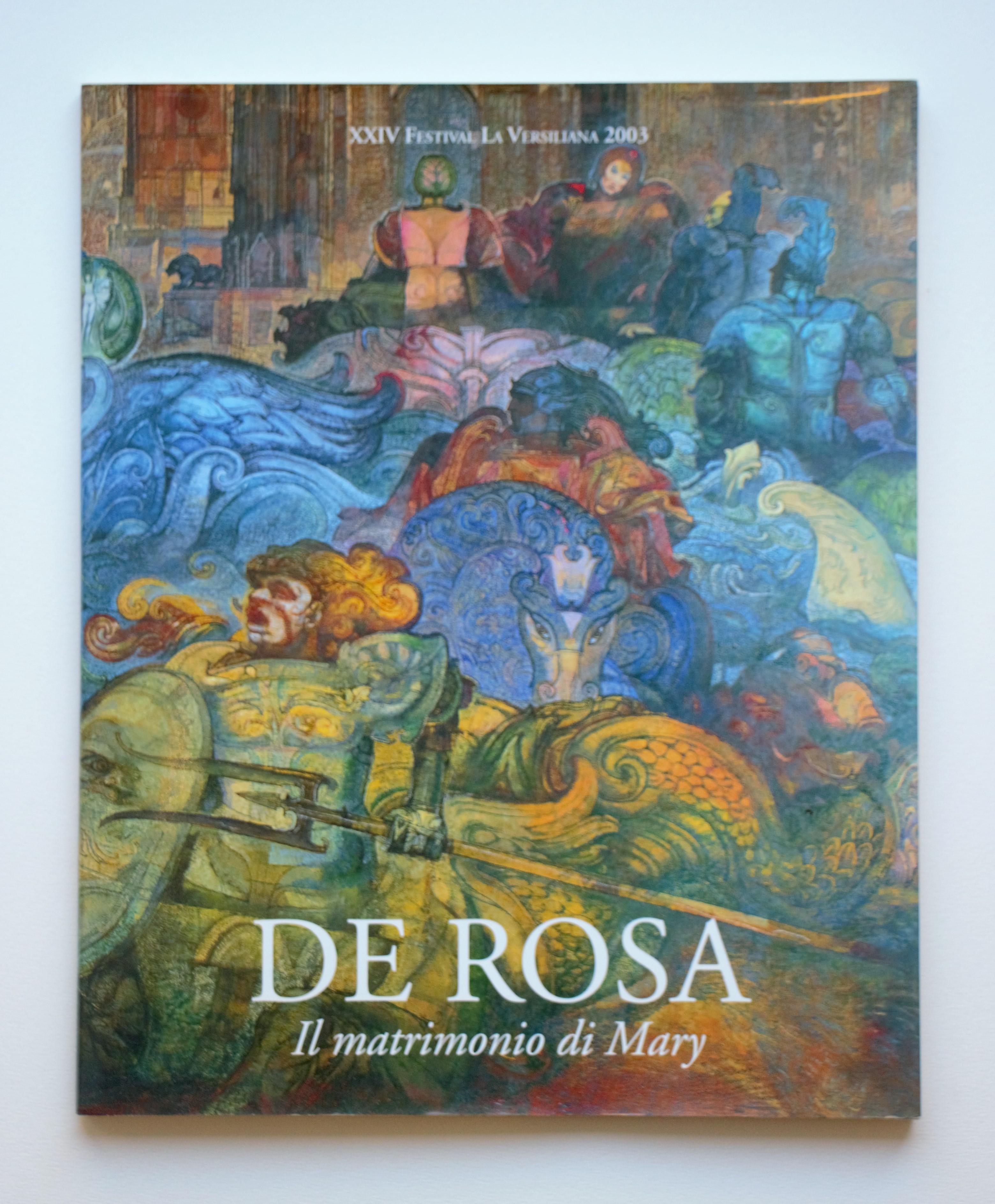 """""""Il matrimonio di mary"""" anno 2003 pagine 67 cm. 24,5x30"""