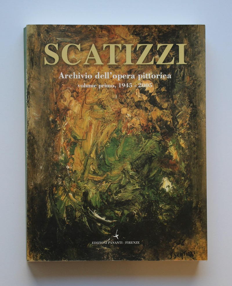 """""""Archivio dell'opera pittorica volume primo 1995-2005"""" anno 2005  pagine 372  cm. 21x28"""