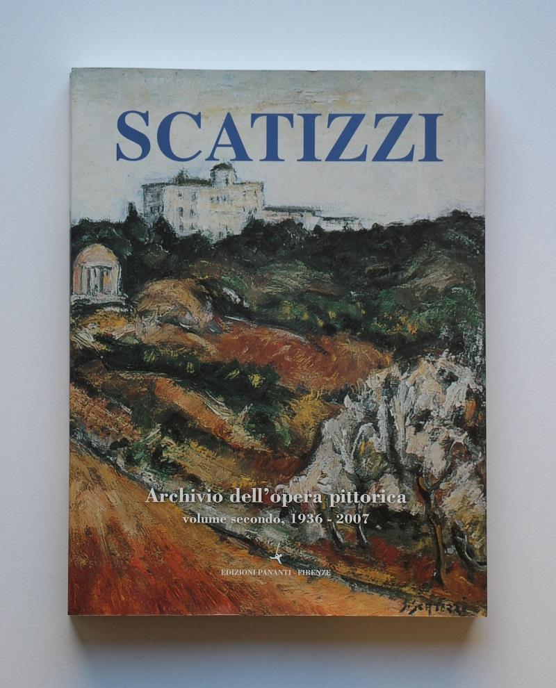 """""""Archivio dell'opera pittorica volume secondo 1936-2007"""" anno 2007  pagine 309  cm. 21,5x28"""