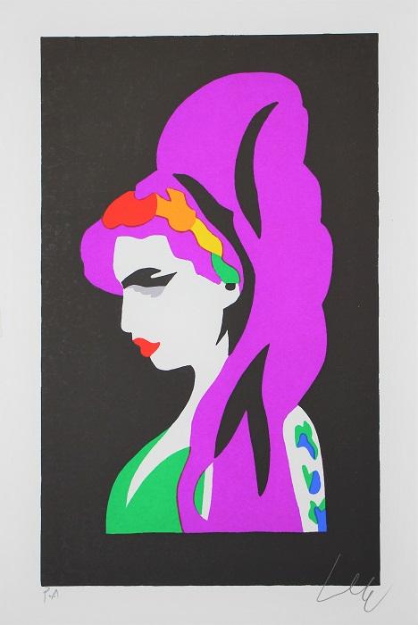 """Amy"" serigrafia cm. 30x20"