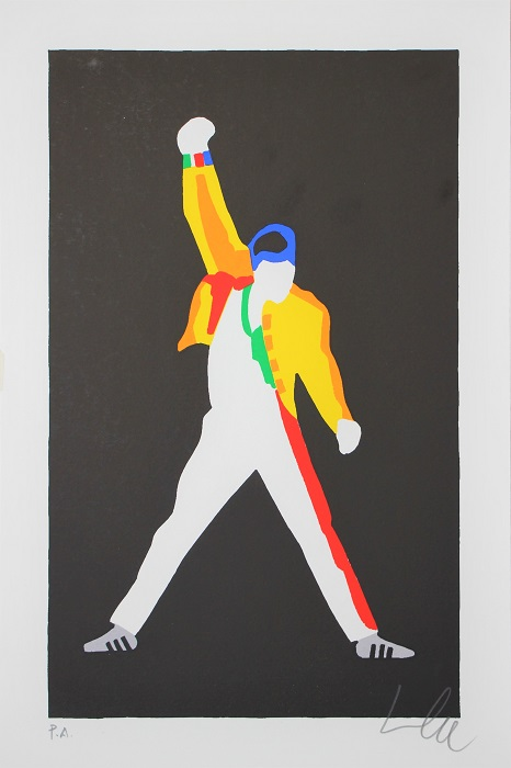 """Freddie"" serigrafia cm. 30x20"