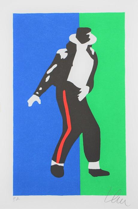 """Michael"" serigrafia cm. 30x20"