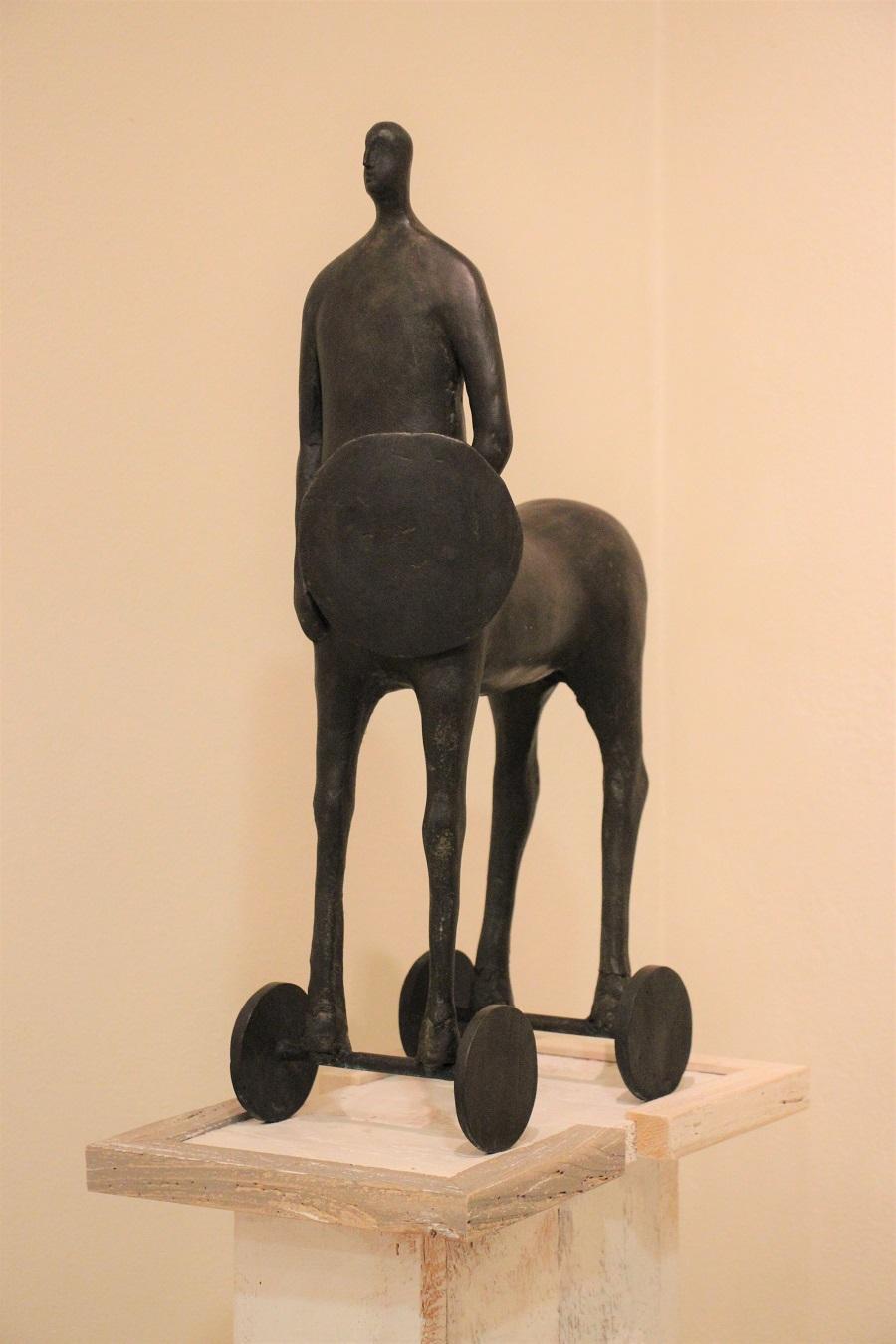 """""""Centauro"""" bronzo pezzo unico - Altezza cm. 56x32"""