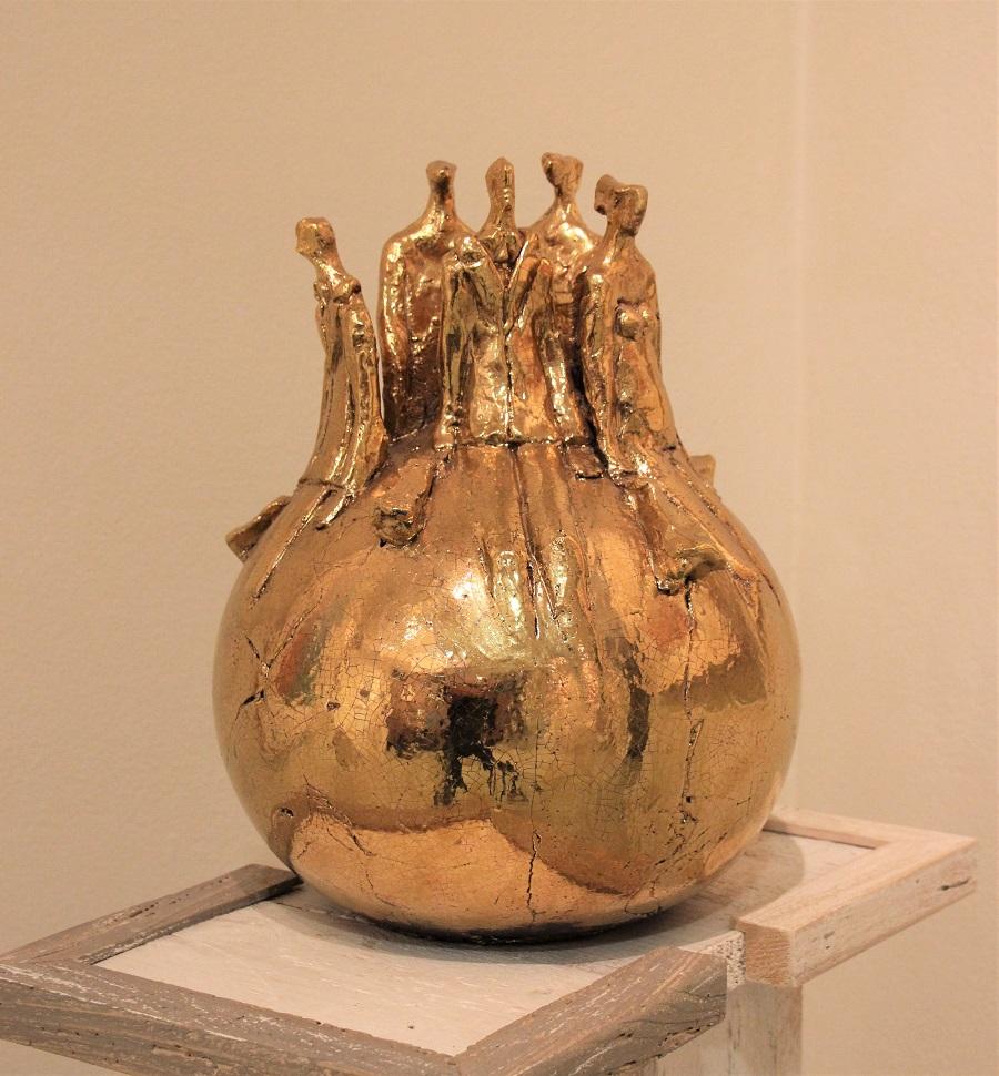 """""""Sfera"""" ceramica pezzo unico - Altezza cm. 32"""