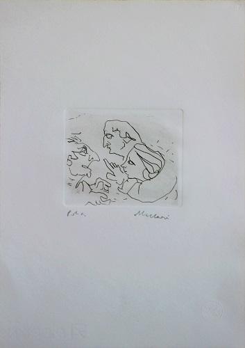 """Figure"" incisione cm. 35x25"