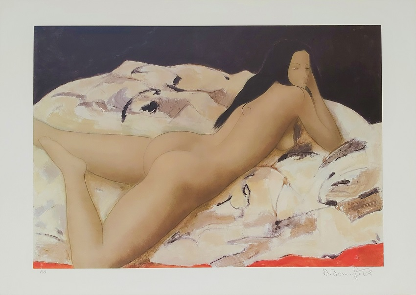 """Anita"" litografia cm. 50x70"