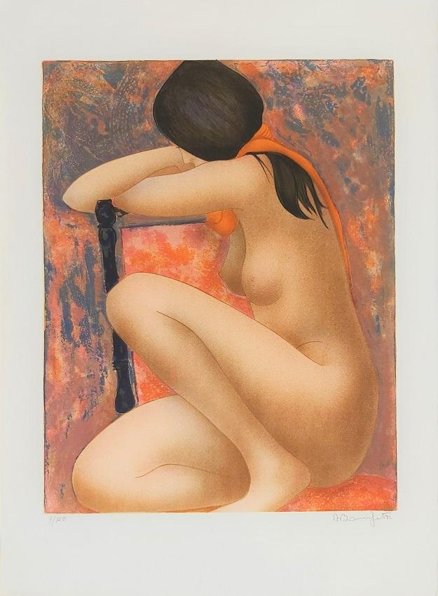 """""""Frida"""" litografia cm. 76x56"""