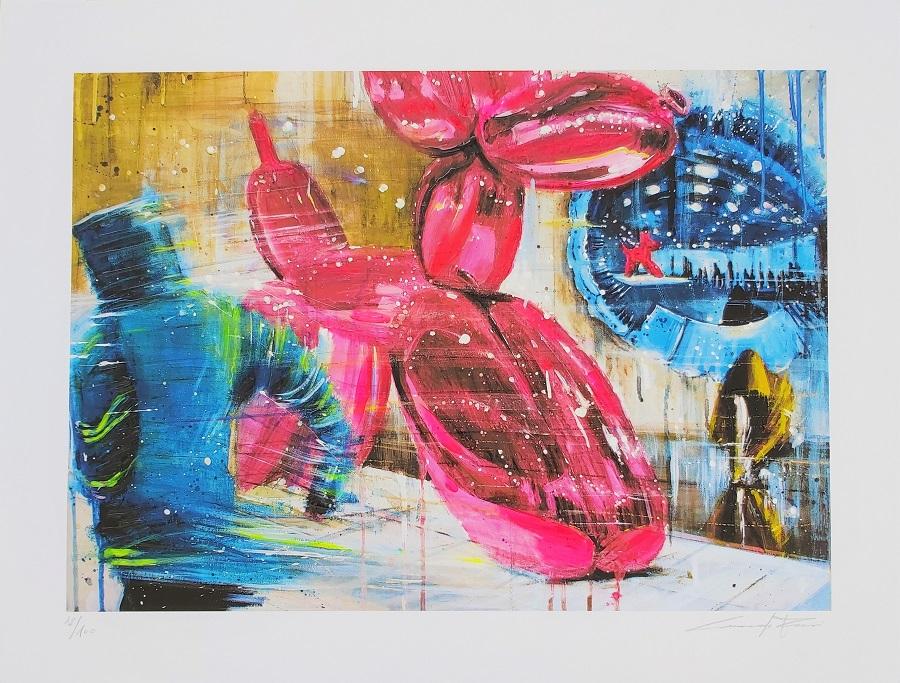 """""""URBAN#MOMA"""" giclèe ritoccata a mano cm. 45x59"""
